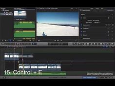[VIDEO] Final Cut Pro X video tutorial: 15 essential keyboard shortcuts! Labelled keyboard; Details.