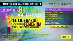 Seminario de Liderazgo Femenino de Amnistía Internacional Venezuela en UCAB | Cresta Metálica Producciones