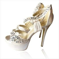Gorgeous LYDC Gem Encrusted High Heel Shoes Size 4 ( UK ) Available in sizes 4, 5, 6, 7, 8.