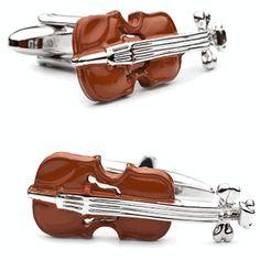 Enamel Violin Cufflinks by Cufflinksman . . . . . der Blog für den Gentleman - www.thegentlemanclub.de/blog