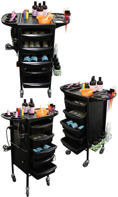 Salon Cart Trolley for art supplies