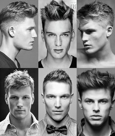 Men's Hairstyles: Point Cut Technique
