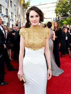 Michelle Dockery #GoldenGlobes