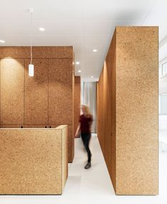 Swiss Studio Dost Has Transformed A Restaurant Into Heart Treatment Centre In Zurich Featuring Cork Lined Cubicles And Waiting Rooms