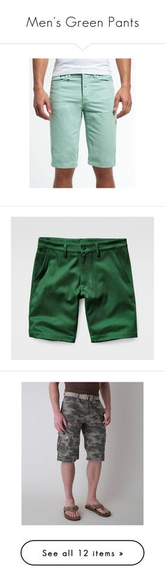 """Men's Green Pants"" by eternalfeatherfilm on Polyvore featuring men's fashion, men's clothing, men's pants, men's casual pants, green, men's 5 pocket pants, mens green chino pants, mens chino pants, mens pants and mens chinos pants"