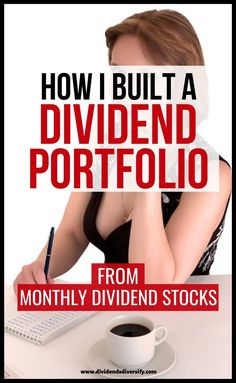 Build the best dividend portfolio utilizing monthly dividend stocks. Dividend portfolio examples included to make money from dividends.