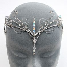 wire wrapped circlet
