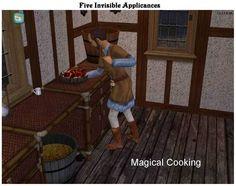 appliances invisible modthesims kitchen modern