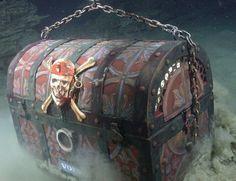 Pirate Treasure Chest -