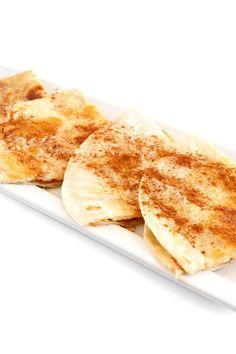 Cinnamon Sugar Tortilla Delight - super quick & easy #recipe!
