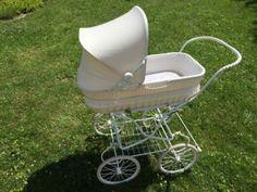 Nostalgie Kinderwagen Retro weiß Knorr Baby Prams, Baby Strollers, Vintage, History, Retro, Kids Wagon, Pram Sets, Prams, History Books