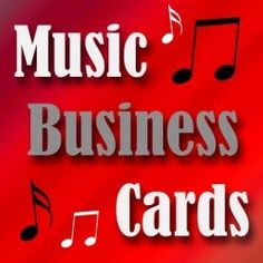 Here you will find business cards for many different areas of the music business. It's a difficult industry in which to succeed so marketing yourself is key. Whether you are a singer, songwriter, musician, DJ, or other related field, you will find a diverse selection of business cards to fit your profession and style.