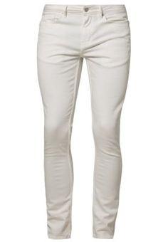 MORGAN - Vaqueros slim fit - white