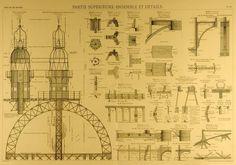 Les plans originaux de la Tour Eiffel - La boite verte