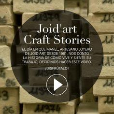 El día en que Manel, artesano joyero de joid'art desde 1981, nos contó la historia de cómo vive y siente su trabajo, decidimos hacer este vídeo. Muestra la faceta artesanal que esconden nuestras joyas. ¡Disfrútalo! #joidart #joidartcraftstories #barcelona #joieriacontemporania #joyeriacontemporanea #contemporaryjewelry #crafts #artesania #video