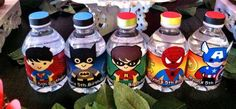 Ryan's Super Heroes Party | CatchMyParty.com