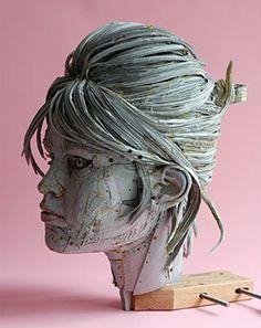 Scott Fife Cardboard Sculpture...amazing!!