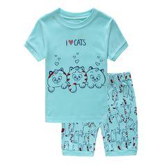 BlcSwan Little Girl Giraffe 2 Piece Pajama Set 100/% Cotton 12M-7Years