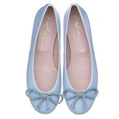 Rosario Blue Patent by #PrettyBallerinas