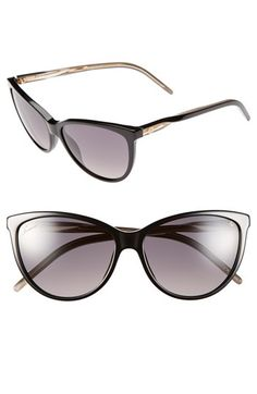 e58480fbf6 Free shipping and returns on Gucci 58mm Cat Eye Sunglasses at  Nordstrom.com. Classic