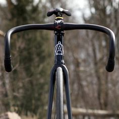 Matte Black Bike Handlebars