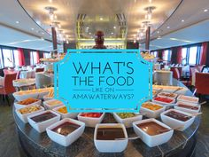 What's the food like on a river cruise? That's the number one question that I get when anyone finds out that I've sailed on river cruises. That's why I decided to document my meals and food choices on our recent cruise with AmaWaterways (I've done a previous version for Viking River Cruises). We sailed on … … Continue reading →