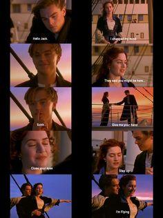 i love titanic