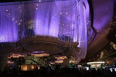The Chandelier Bar at the Cosmopolitan... Definitely the most beautiful and unique bar design I have seen...