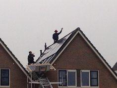 Winaico  zonnepanelen en SMA omvormer op de Worp in Deventer