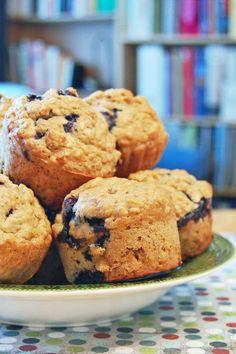Muffin Recipes, Bread Recipes, Baking Muffins, Breakfast Muffins, Scones, Biscuits, Deserts, Brunch, Gluten