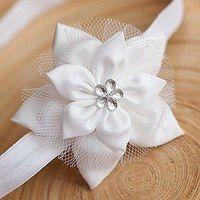 Cloth Flowers, Felt Flowers, Diy Flowers, Fabric Flowers, Ribbon Crafts, Ribbon Bows, Handmade Accessories, Hair Accessories, Hair Bow Supplies