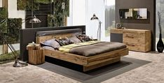Bedroom solid wood - Best Home Decorating Ideas - How To Design A Room - homehomedecor Natural Wood Furniture, Home Furniture, Outdoor Furniture, Modern Zen House, Bedroom Cabinets, Wood Bedroom, Bedroom Ideas, Home Goods, Home Decor