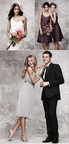 Light Grey Bridesmaid