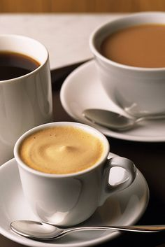 A cup for you, a cup for me & one to spare for absent friends