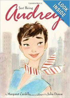 Just Being Audrey: Margaret Cardillo, Julia Denos: 9780061852831: Amazon.com: Books  children's book