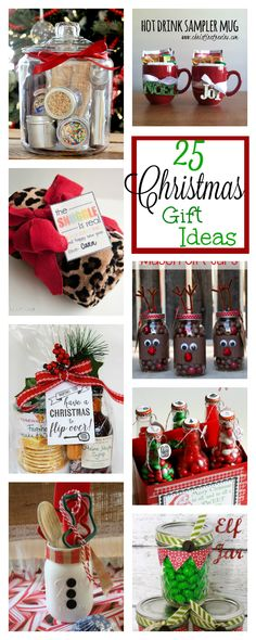 25 Fun Christmas Gifts for Friends and Neighbors Fun Christmas Gifts for Friends, Family, Neighbors and Co-workers-These are super fun and easy Christmas gift ideas for neighbors and friends this year. You're going to love them! Office Christmas Gifts, Mason Jar Christmas Gifts, Creative Christmas Gifts, Neighbor Christmas Gifts, Christmas Gift Baskets, Christmas Gifts For Boyfriend, Family Christmas Gifts, Christmas Fun, Family Gifts