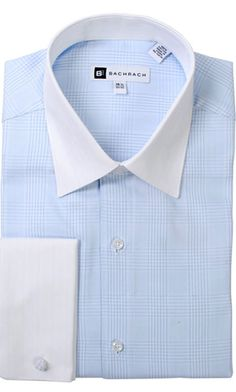 TONAL STRIPE FRENCH CUFF DRESS SHIRT