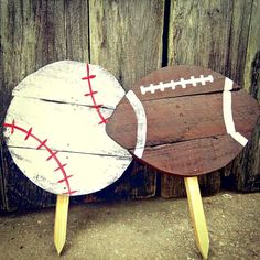 Football Mom - Home Decor - College Football - Personalized Gift - Football With Name - Football Party - Custom Football - Football Fan