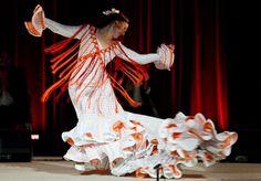Concha Jareno Flamenco Costume, Victorian, Costumes, Dresses, Art, Fashion, Bata De Cola, Sevilla, Dancing
