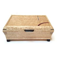Mikutowski Woodworking - Birdseye Maple Jewelry Box | SattvaGallery.com