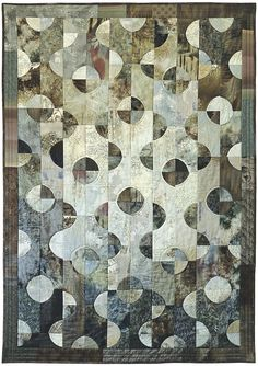Feng Shui Quilt- drunkards path variation- from Fun and Easy Quilt design