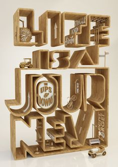 Life is a journey by Duncan Sham, via Behance