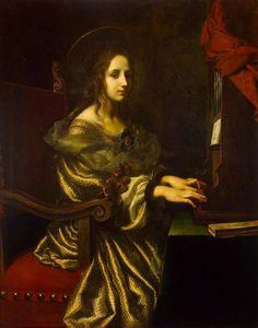 TICMUSart: St Cecilia - Carlo Dolci (1671) (I. M.)