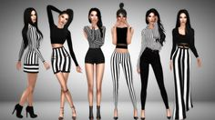 Sims 4 Look Books And CC Finds