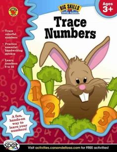 Trace Numbers, Ages 3+