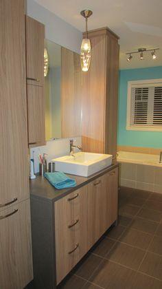 1000 images about salle de bain on pinterest armoires - Vanite salle de bain contemporaine ...
