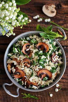 Vegan Vegetarian, Vegetarian Recipes, Curry Pasta, Paella, Pasta Salad, Acai Bowl, Food And Drink, Lunch, Cooking