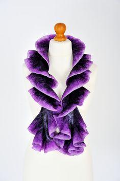 Hey, I found this really awesome Etsy listing at https://www.etsy.com/listing/273606830/felted-scarf-nunofelt-scarf-nuno-felt