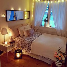 Cute and Modern Bedroom Interior Design Ideas 2018 Part bedroom ideas; bedroom ideas for small room; Cute Bedroom Ideas, Cute Room Decor, Teen Room Decor, Home Decor Bedroom, Bedroom Inspiration, Bedroom Furniture, White Furniture, Bedroom Plants, Furniture Dolly