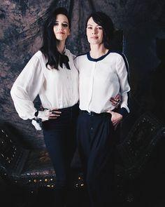 #EvaGreen and #LenaHeadey for New York Daily News